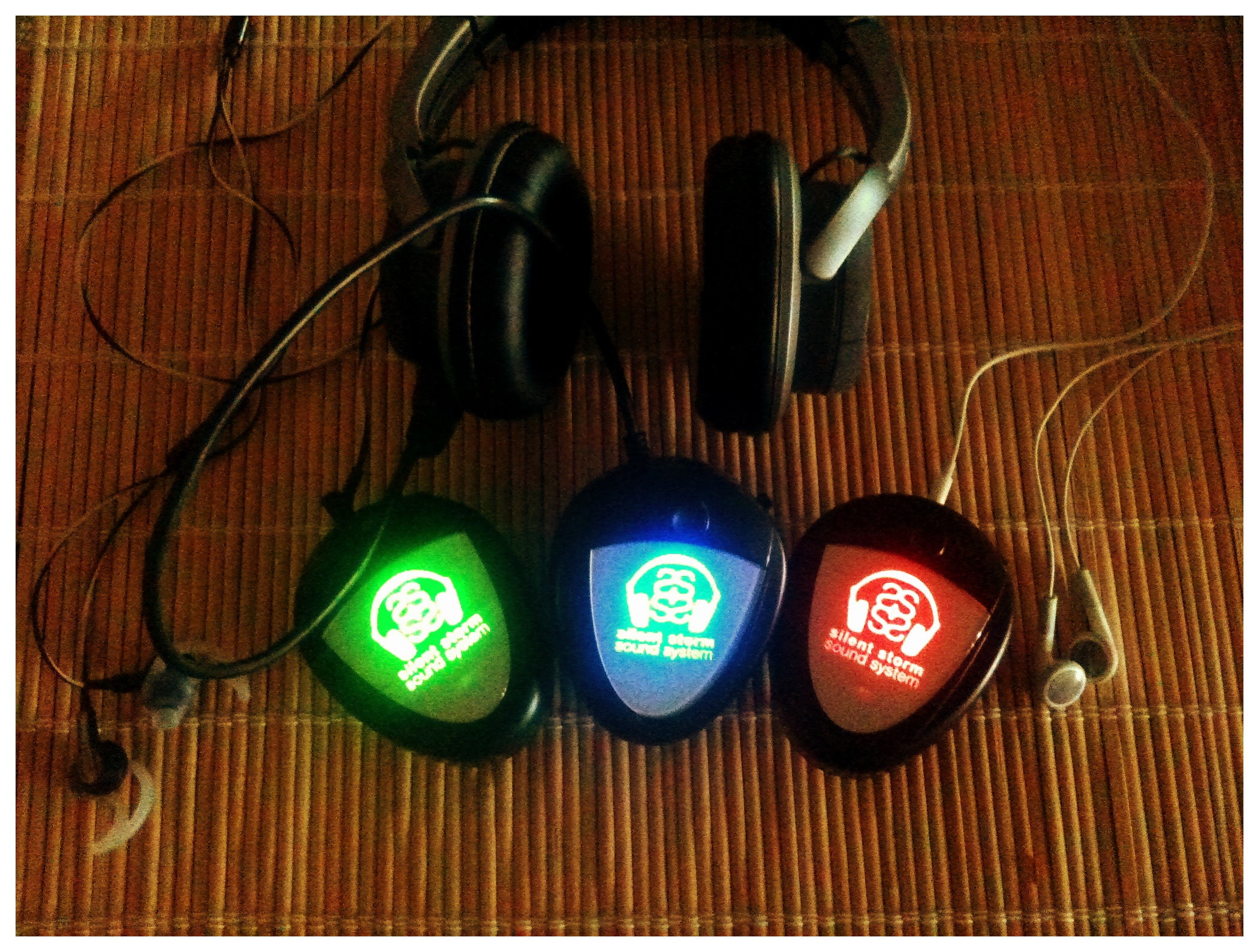Silent Disco Receivers for Headphones