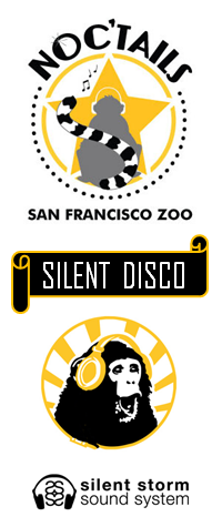 Click to visit Facebook event page for Silent Disco at SF Zoo | Noc'tails: August 17, 2012
