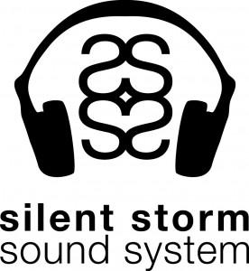Silent Storm Logo - Black on White
