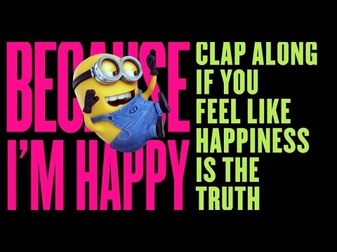 Pharrell Williams Happy Minion